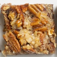 Layered German Chocolate Pecan Pie Bars