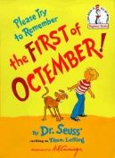 Please Remember the First of Octember