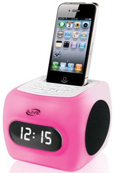 rogeriodemetrio.com: Color Changing Clock Radio with Dock for iPhone/iP...