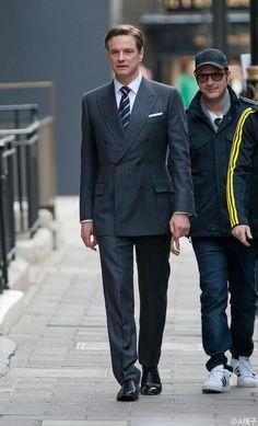 コリン・ファース画像bot(@CFirthpicbot)さん | Twitter Kingsman Suits, Kingsman Movie, Colin Firth Film, Kingsman The Secret Service, British Style Men, Dandy Style, Celebrity Style Inspiration, Elegant Man, Modern Gentleman