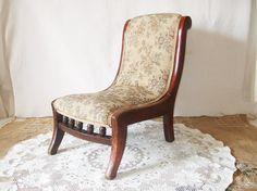 Nursing Chair Edwardian English antique by FrenchGypsy on Etsy, $80.00