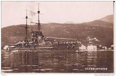Austro-Hungarian battleship K.u.K. Tegetthoff.