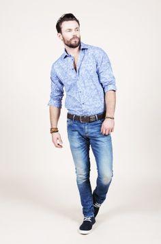 Guide London shirt, Lucleon jewellery, Firetrap belt, Freesoul jeans // #Wewearthem #Studio25Finland