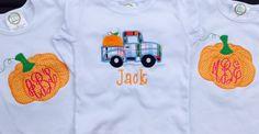 Fall sibling shirts