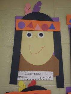 The Indians helped the Pilgrims hunt and grow food.