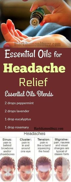 Find here how to use essential oil for headaches and migraines relief.These essential oil recipes can also be used to reduce stress, anxiety, or depression Essential Oils For Headaches, Best Essential Oils, Essential Oil Blends, Oil For Headache, Headache Relief, Chamomile Essential Oil, Oils For Skin, Natural Cures, Natural Treatments