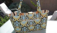 Free Bag Pattern and Tutorial - Stylish Book Bag