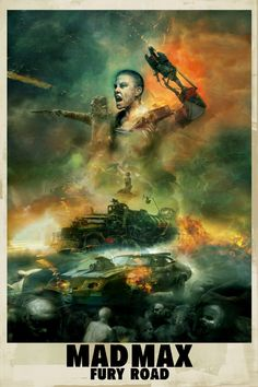 Mad Max Fury Road by Christopher Shy #LogoCore