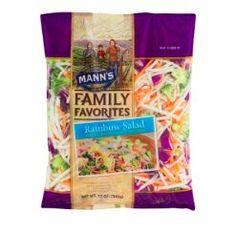 Mann's Rainbow Salad (Broccoli, Cauliflower, Carrots & Red Cabbage)