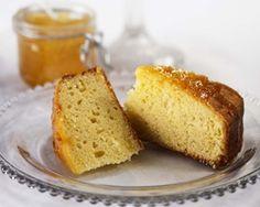 Orange soured cream cake