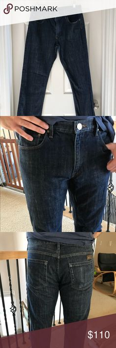 """Burberry Brit Men's Jeans Barely worn authentic Burberry Brit men's jeans. Original size was 34"""" by 34"""" but was tailored to fit 32"""" by 32"""". Tailored at Nordstrom. Soft and comfortable jeans. Straight cut. Burberry Jeans Straight"""