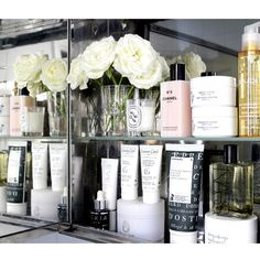 Beauty editor Kate Rooney on London's burgeoning health scene, mini products for more purse space, and beauty inspiration from the original James Bond Beauty Corner, Shelfie, Makeup Storage, Luxury Beauty, Beauty Hacks, Hair Beauty, Beauty Room, Fragrance, Skin Care