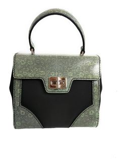 b5b9d15d884b Prada Women s Green Tessuto Lucerto Nylon and Leather Handbag 1BA014