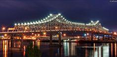Mississippi River Bridge, Baton Rouge