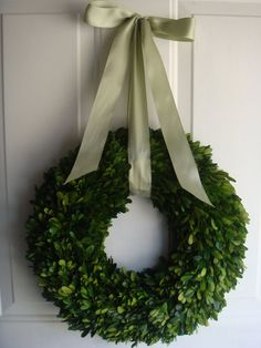 Preserved boxwood wreath spring wreath by designsdivinebyjb. $79