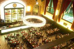 Frankfurt - Restaurant Druckwasserwerk - Restaurant. Great meat. German specialities. By the river.