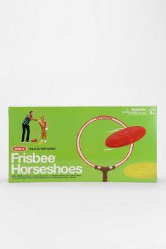 Frisbee Horseshoe Game #urbanoutfitters