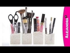 Organize Your Makeup: How to Organize Cosmetics in the Bathroom - YouTube