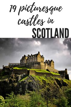History lover? You'll love this collection of picturesque, beautiful castles to see in Scotland. From the Highlands to the cities, Scotland is full of stunning castles!