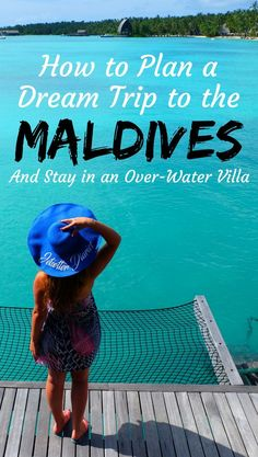How to plan a dream trip to the Maldives and stay in in overwater villa. Dreaming of swimming in the best beaches in the world? Maldives is one of the top destinations to add to your bucket list. The list including where to stay in the Maldives for every Romantic Honeymoon, Romantic Getaway, Romantic Travel, Honeymoon Places, Honeymoon Ideas, Sri Lanka, Travel Guides, Travel Tips, Maldives Travel