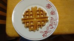 Very mochi waffles