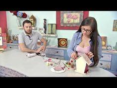 Diy, Videos, Youtube, Mason Jar Decorating, November, Christmas Ornaments, Hands, Tutorials, Bricolage