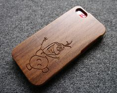 Walnut wood iPhone 5c case - iPhone5c case - olaf frozen iPhone 5c case - disney iPhone 5c case - SCC007 on Etsy, $28.42 CAD