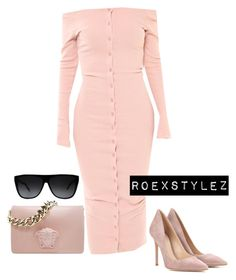 """Untitled #523"" by style-ish ❤ liked on Polyvore featuring Yves Saint Laurent, Gianvito Rossi, women's clothing, women's fashion, women, female, woman, misses and juniors"