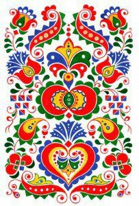 Hungarian Embroidery, Folk Embroidery, Polish Folk Art, Scandinavian Folk Art, Textile Fiber Art, Applique Quilts, Painting On Wood, Art Drawings, Artsy