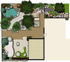 Garden plan design... My Japanese Garden