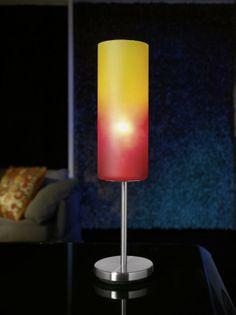 Barvy, které rozzáří každý stůl. Stolní lampa TROY 1.
