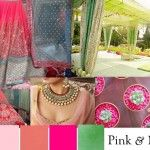 blog ordinating outfit colors bride groom match contrast