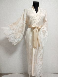 Source by robe Bridal Nightgown, Bridal Robes, Wedding Lingerie, Bridal Gown, Silk Robe Long, Silk Kimono Robe, Long Kimono, Wedding Kimono, Gown Wedding