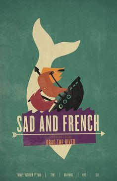 Sad and french