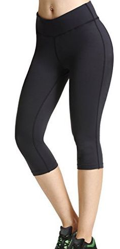 This is great for your fitness training and makes a good base layer for everyday fashion It is a must have for yoga workout sports. Mid rise waist, Cropped length. Has good durable and elastic.