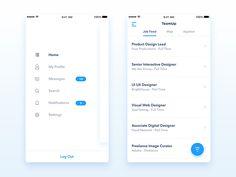 TeamUp - App UI/UX Design - WIP