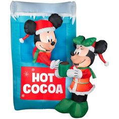 Hot Cocoa inflatables