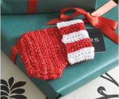 Little Gift Card Stocking