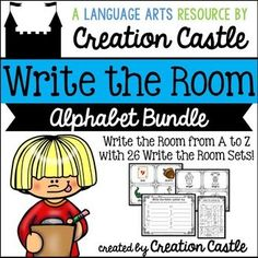 Are you looking for a way to engage your learners while learning the alphabet? Write the room is a fun and interactive way to get your students moving around the classroom. After placing word/concept cards around the classroom, students will walk around with a clipboard and recording sheet. Students write the words/answers they find on your chosen recording sheet.