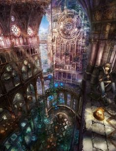 The Crystalline Cathedral
