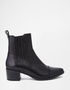 Vagabond+Emira+Leather+High+Ankle+Boots