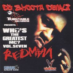 Who's The Greatest MC REDMAN Best Of: Mixtape Compilation CD DJ Smooth Denali