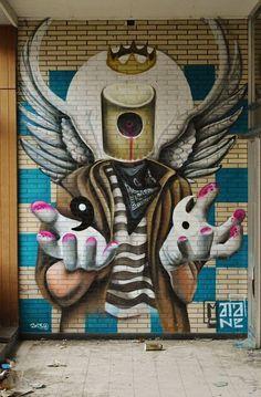 MataOne - yin to yang - street art vs graffiti