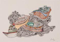 #ships #boats #illustration #traditional #vintage