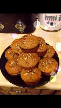 Banana & Pecan muffin