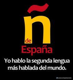 294856_105225026335048_1048892300_n.jpg (873×960) La ñ de España - Yo hablo la segunda lengua más hablada del mundo