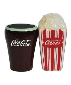 Love this Coca-Cola Salt & Pepper Shakers by Coca-Cola  on #zulily! #zulilyfinds