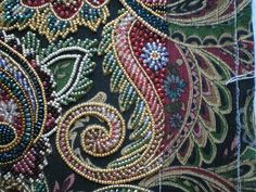 """Pouchette #beaded embroidery #afs   """" I am so in love with this....these designers are amazing"""" says lilyjane"""