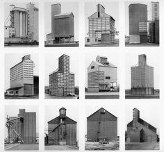 SKTCHBK (via Bernd And Hilla Becher Grain Elevators -...