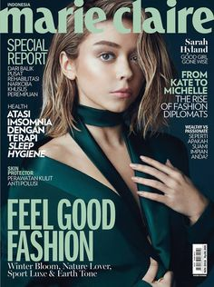 Sarah Hyland for Marie Claire Indonesia November 2016